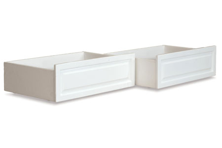 raised panel storage drawers