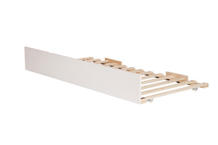 urban bed trundle white